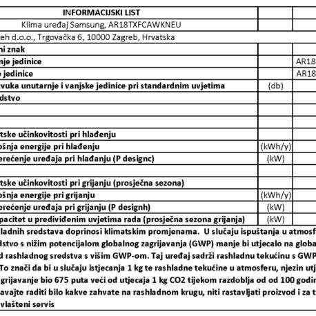 0101405 – SAMSUNG WIND COMFORT AR18TXFC – 9