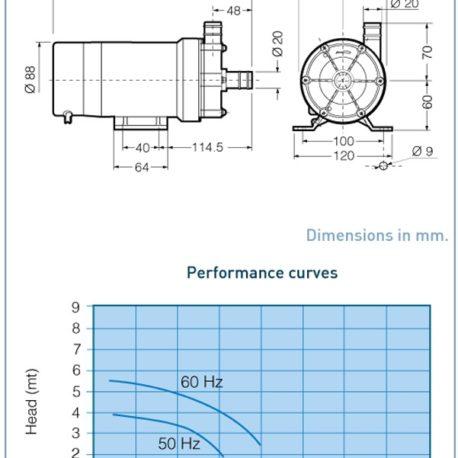 2301176 – Pumpa morske vode PMD421-230V – 2