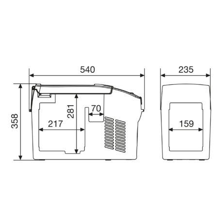 0101430 – Prijenosni hladnjak CF11 – 6
