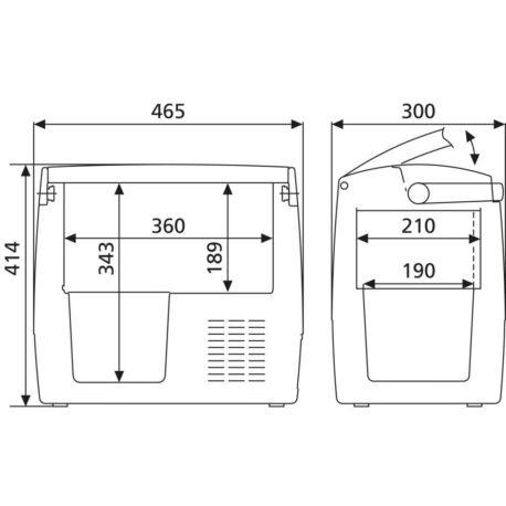 0101433 – Prijenosni hladnjak CDF18 – 11