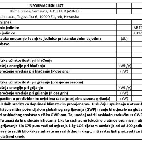 0101394 – SAMSUNG AR3500 AR12TXHQ – 9