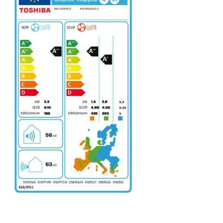 0113090 – Toshiba Seiya 3.3 kW B13J2KVG – 6